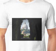 Aventine keyhole, rome Unisex T-Shirt