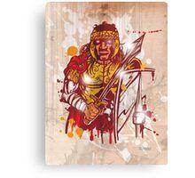 roman warrior hand draw Canvas Print