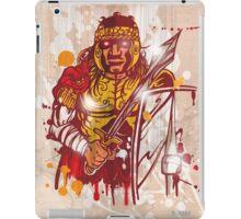 roman warrior hand draw iPad Case/Skin