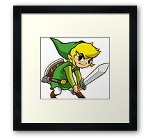 Link from Zelda Framed Print