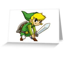 Link from Zelda Greeting Card