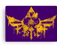 Skyward Symbol - Purple BG Canvas Print