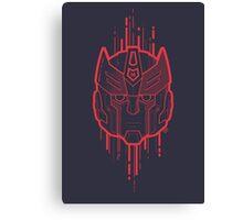 Autobot Logo / Prowl (lines) Canvas Print