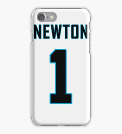 Cam Newton Football Jersey  iPhone Case/Skin