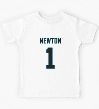 Cam Newton Football Jersey  Kids Tee