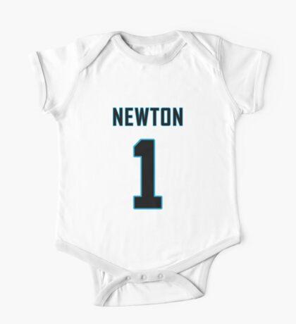 Cam Newton Football Jersey  One Piece - Short Sleeve