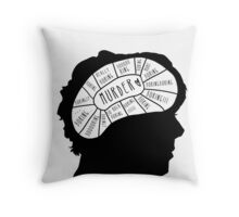 BORING!! Throw Pillow