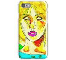 Glassheart (Yellow/Blue) iPhone Case/Skin