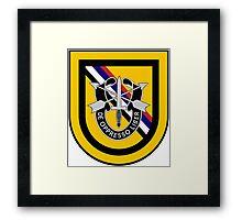 1st Special Forces Korea Framed Print
