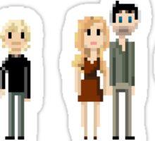 8-bit Murder House Sticker
