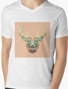 deer moose Mens V-Neck T-Shirt