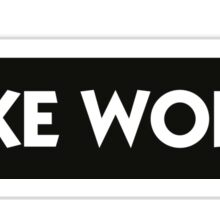 I like words Sticker