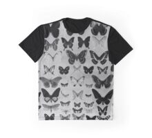 Butterfly Swarm - Vintage Scientific Illustration  Graphic T-Shirt