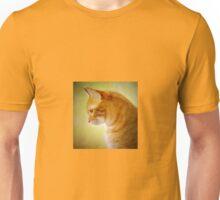 Tabby Cat Portrait Unisex T-Shirt