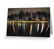 Sphere Of Lights Greeting Card