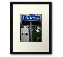 Fifa Headquarters Framed Print