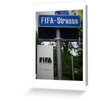 Fifa Headquarters Greeting Card