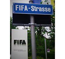 Fifa Headquarters Photographic Print