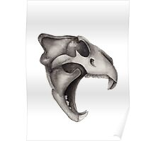 Lion Skull - Hear Me Roar Poster