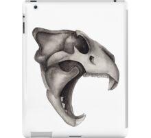 Lion Skull - Hear Me Roar iPad Case/Skin