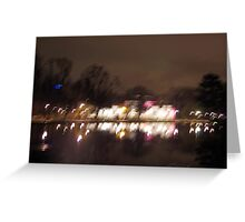Lights In Motion Greeting Card