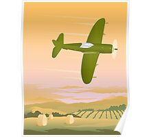 Fighter Plane Poster