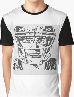 Eli Manning Portrait Graphic T-Shirt