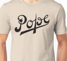 Vintage logo Pope motorcycles Unisex T-Shirt