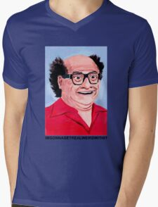 Realweird Mens V-Neck T-Shirt