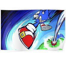 Sonic | Rocket Kick Poster