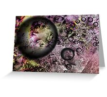 Color Galaxy Greeting Card