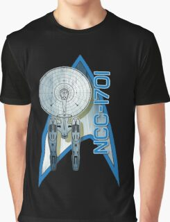Star Trek NCC1701 Graphic T-Shirt