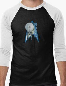 Star Trek NCC1701 Men's Baseball ¾ T-Shirt