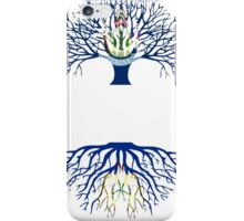 MAINE GROWN WITH VERMONT ROOTS iPhone Case/Skin