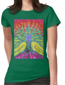 Water Tree Womens Fitted T-Shirt