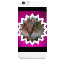 Cat in star iPhone Case/Skin