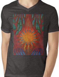 Heart Of Forest Mens V-Neck T-Shirt
