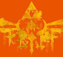 Skyward Symbol - Orange BG by LauryQuinn