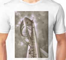 Spinnaker Tower, Portsmouth Unisex T-Shirt