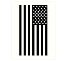 The black flag  Art Print