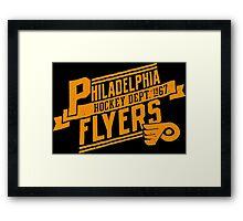 Philadelphia Flyers Hockey 1967 Framed Print