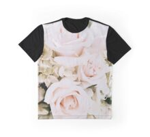 Pastel Roses Graphic T-Shirt