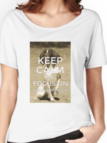 Keep Calm Springer Women's Relaxed Fit T-Shirt