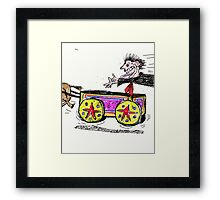Jumpin' On The Band Wagon   Framed Print