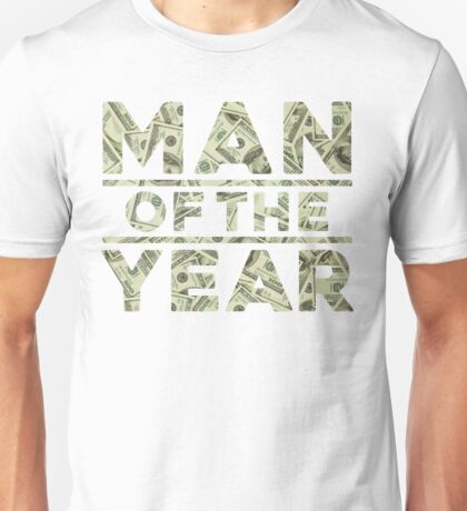 Man of the year Unisex T-Shirt