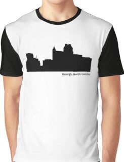 Raleigh, North Carolina Graphic T-Shirt