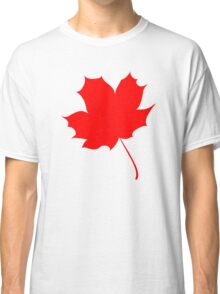 Maple red leaf Classic T-Shirt