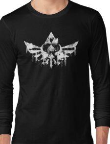 Skyward Symbol - White Long Sleeve T-Shirt