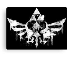 Skyward Symbol - White Canvas Print
