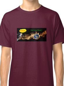 Eat Less Meat To Reduce Global Warming Classic T-Shirt